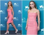 Lily-Rose Depp In Chanel @ 'The King' Venice Film Festival Photocall