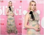 Lucy Boynton In  Christian Dior @ 'The Politician' New York Premiere