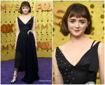Maisie Williams In J.W. Anderson  @ 2019 Emmy Awards