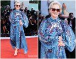 Meryl Streep In Givenchy @ 'The Laundromat' Venice Film Festival Premiere
