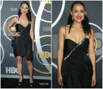 Nathalie Emmanuel  In Preen By Thornton Bregazzi @ Emmy Awards After Party