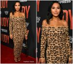 Naya Rivera In Vintage Alaia @  The 'Judy' LA Premiere