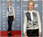 Nicole Kidman In  Christian Dior @ 'The Goldfinch' Toronto Film Festival Press Conference