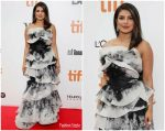 Priyanka Chopra In Marchesa @ 'The Sky Is Pink' Toronto Film Festival Premiere