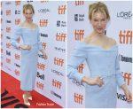 Renee Zellweger In Ulyana Sergeenko @ 'Judy' Toronto Film Festival Premiere