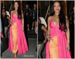 Rihanna In  Jacquemus  @   Fenty Beauty South Korean Launch