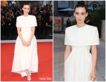 Rooney Mara In Givenchy Haute Couture @ 'Joker' Venice Film Festival Premiere