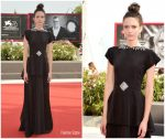 Stacy Martin In Gucci @ 'Ji Yuan Tai Qi Hao (No.7 Cherry Lane)' Venice Film Festival Premiere