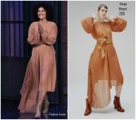Tracee Ellis Ross'  In Preen Dress @ Late Night with Seth Meyers