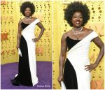Viola Davis  In Alberta Ferretti Limited Edition @  2019 Primetime Emmy Awards