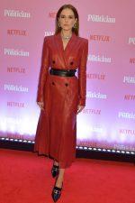 Zoey Deutch In  Alexander McQueen @  'The Politician' Netflix London Screening
