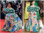 Zazie Beetz In Valentino Haute Couture @ 'Joker' Venice Film Festival Premiere