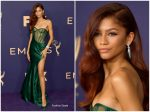 Zendaya Coleman In Vera Wang @ 2019 Emmy Awards