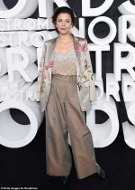 Maggie Gyllenhaal In Dries Van  Noten   @ Nordstrom Store Opening Party In New York