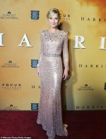Jennifer Nettles  In Jenny Packham @ The 'Harriet' Washington DC Premiere
