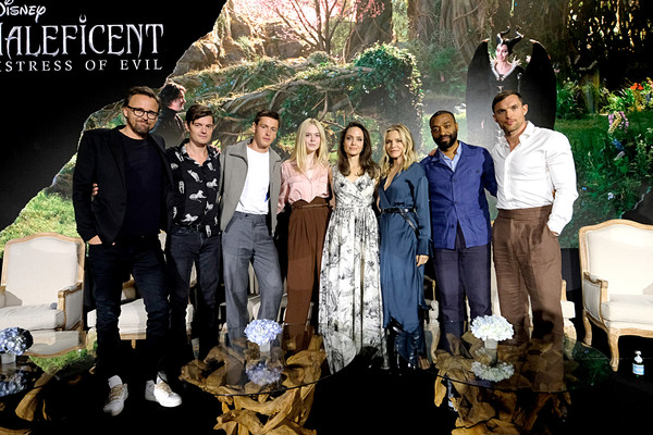 "global-press-conference-for-disney's-""maleficent:-mistress-of-evil"""