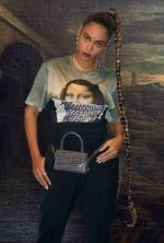 Beyonce Knowles In Neil Barrett T- Shirt – Website Pic