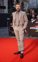 "Joel Edgerton  In Louis Vuitton  @ ""The King""BFI London Film Festival Premiere"