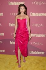Sarah Hyland  In Rasario @ @ EW  &  LOreal Paris USA 's 2019 Pre-Emmy Party