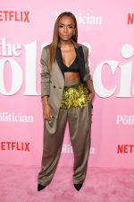 "Janet Mock  In Rachel Comey @ Netflix's ""The Politician"" Season One  New York Premiere"