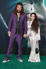 "Jason Momoa In Gucci  &Lisa Bonet In The Vampires Wife @  ""Joker"" LA Premiere"
