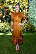Maggie Lawson  In By Timo   @  2019 Veuve Clicquot Polo Classic Los Angeles