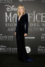 Michelle Pfeiffer In Monique Lhuillier @  The 'Maleficent: Mistress Of Evil' Rome Premiere