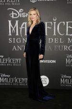 Michelle Pfeiffer In Monique Lhuillier @  The 'Maleficent: Mistress Of Evil' Rome Premiere