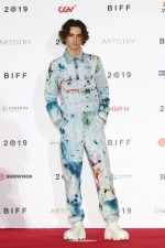 Timothée Chalamet In S.R. Studio LA. CA. @ 2019 Busan International Film Festival