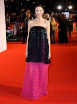 Caitriona Balfe In Armani Prive @ The 'Le Mans '66' London Film Festival Premiere