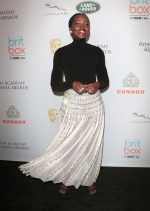 Lupita Nyong'o In Alexandre Vauthier Haute Couture @ 2019 British Academy Britannia Awards