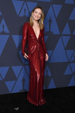Olivia Wilde In   @ Ralph Lauren  @ 2019 AMPAS' Governors Awards
