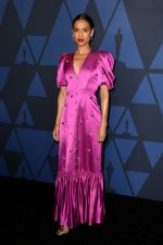 Gugu Mbatha-Raw  In Erdem @  2019 AMPAS' Governors Awards