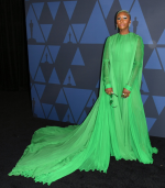 Cynthia Erivo In Valentino Haute Couture @ 2019 AMPAS' Governors Awards