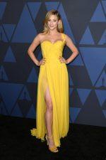 Lili Reinhart In Oscar De La Renta @ 2019 AMPAS' Governors Awards