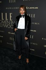 Janet Mock  In Ralph Lauren @  ELLE's 2019 Women In Hollywood Event
