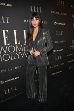Jameela Jamil In Azzaro Couture @  ELLE's 2019 Women In Hollywood Event