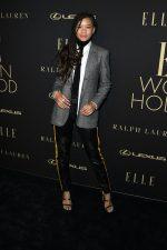 Storm Reid  In Ralph Lauren @  ELLE's 2019 Women In Hollywood Event
