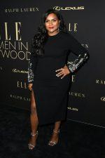 Mindy Kaling In Oscar De La Renta @  ELLE's 2019 Women In Hollywood Event