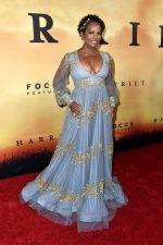 Vanessa Bell Calloway  In Steven Khalil Couture  @ The 'Harriet' LA Premiere