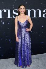 """Emilia Clarke In Valentino  @  """"Last Christmas"""" New York  Premiere"""