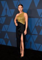 Scarlett Johansson In Celine @ 2019 Governors Awards