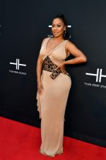 Lala Anthony  In Tom Ford @  Tyler Perry Studios Grand Opening Gala In Atlanta