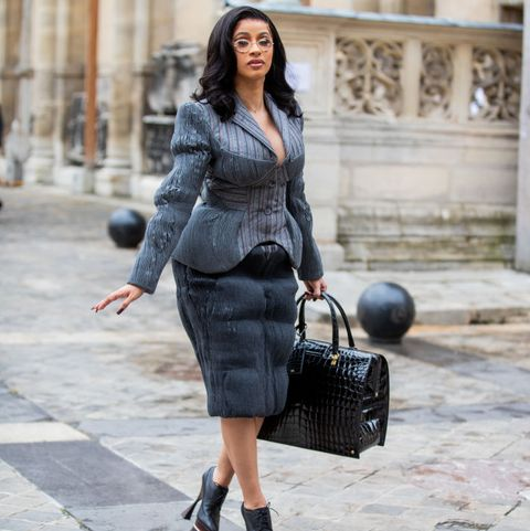 cardi-b-in-head–to–toe-thom-browne-@-paris-fashion-week