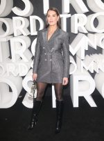 Brooke Shields In Blazer Dress @ Nordstrom Store Opening Party in New York