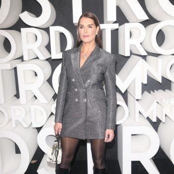 brooke-shields-in-blazer-dress-nordstrom-store-opening-party-in-new-york