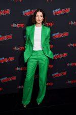 "Caitriona Balfe In Bella Freud  @ ""Outlander"" Starz NYCC Panel"