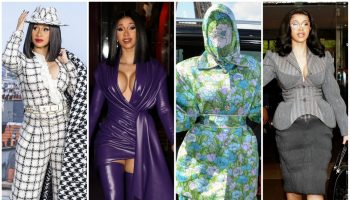 Cardi -B -Sizzles – at- Paris- Fashion- Week -2019-