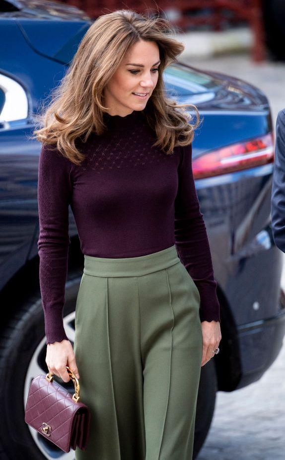 Duchess Of Cambridge Makes 1st Public Appearance Since
