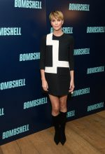 Charlize Theron  In Christian Dior  @ The 'Bombshell' New York Screening